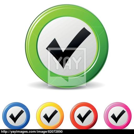 Tick Icons Vector