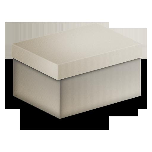 Box Grey Icon
