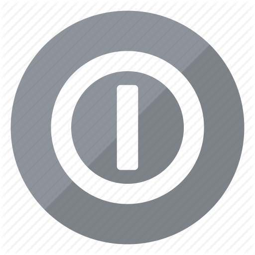 Circle, Grey, Hardware, Network, Off, On, Push Icon