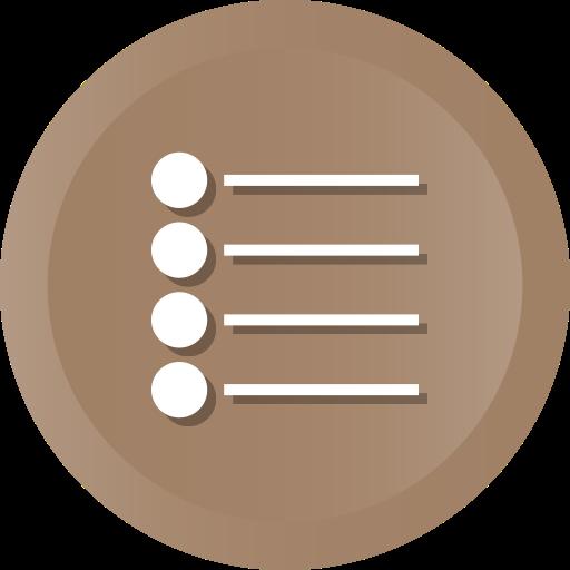 Bullet, Grey Icon