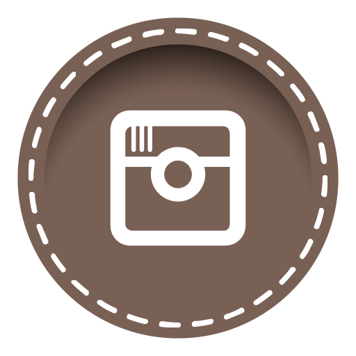 Instagram Icon Stitched Social Media Iconset Uiconstock