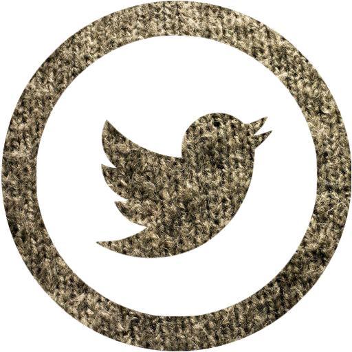 Grey Wool Twitter Icon
