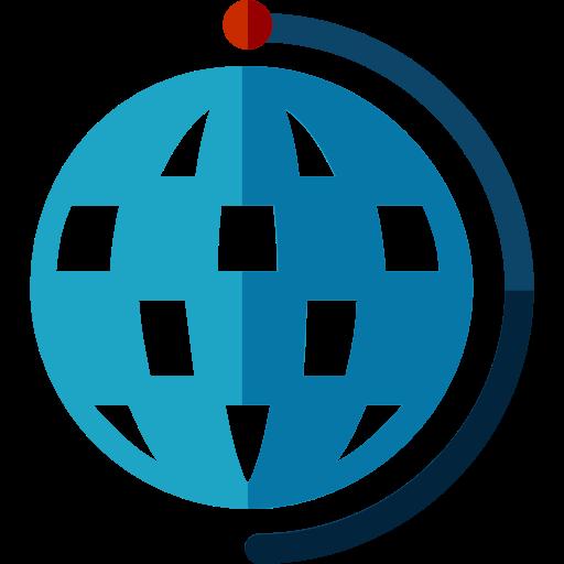 Planet Earth, Earth Globe, Earth Grid Icon