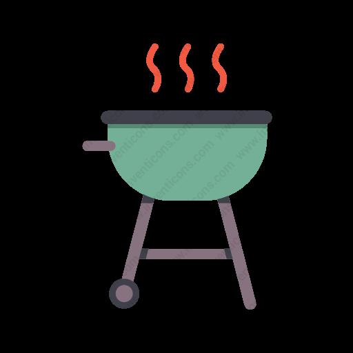 Download Barbecue,grill Icon Inventicons
