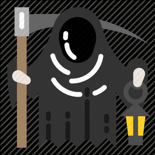 Death, Grim, Horror, Monster, Mud, Reaper Icon