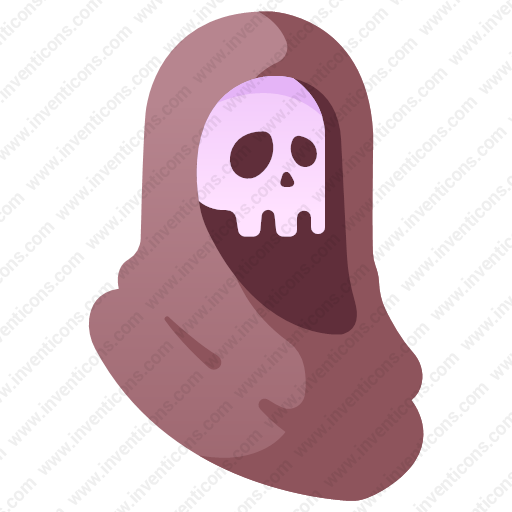 Download Grim Reaper,skull Icon Inventicons