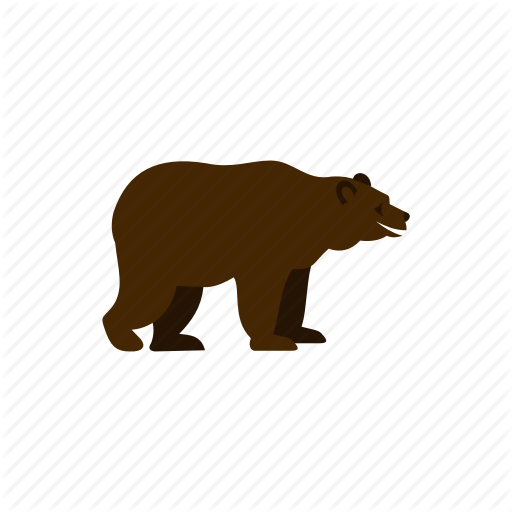Animal, Bear, Brown, Grizzly, Nature, Predator, Wild Icon