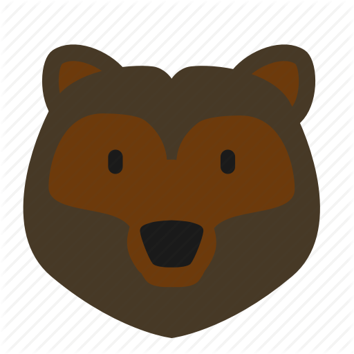 Animal, Bear, Forest, Grizzly Icon