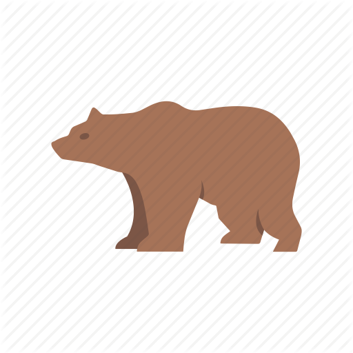 Bear, Bear Market, Brown Bear, Grizzly Bear Icon