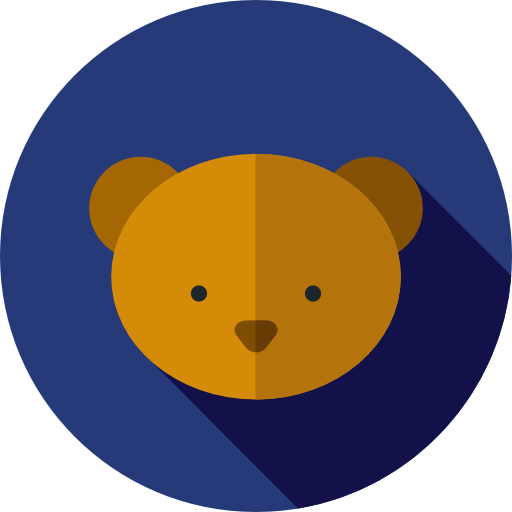Bear, Wild Life, Animals, Animal Kingdom, Zoo Icon