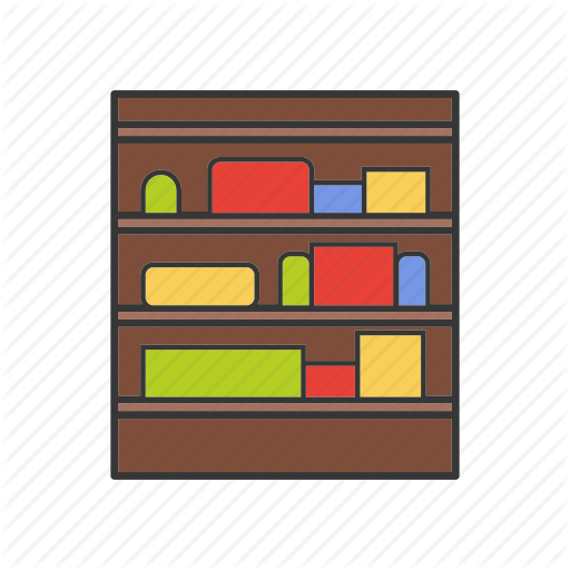 Cupboard, Goods, Shelf, Shop, Shop Shelves, Stand, Store Icon