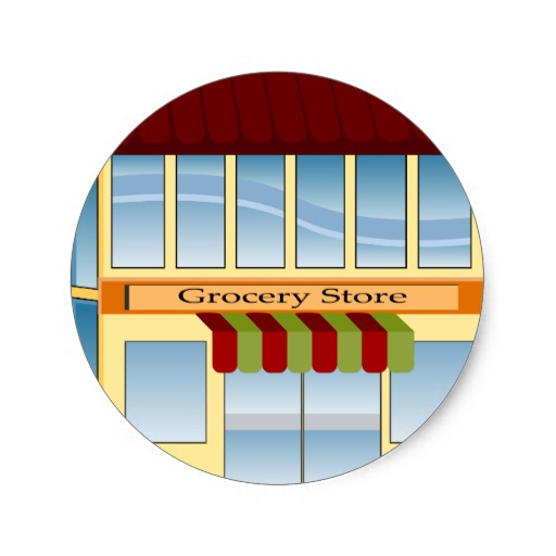 Pictures Of Grocery Store Icon