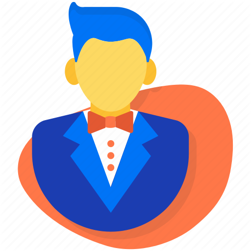 Groom, Man, Marriage, Marry, Wedding Icon