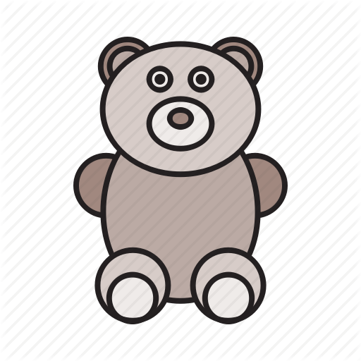 Baby, Bear, Child, Children, Play, Teddy Bear, Toy Icon