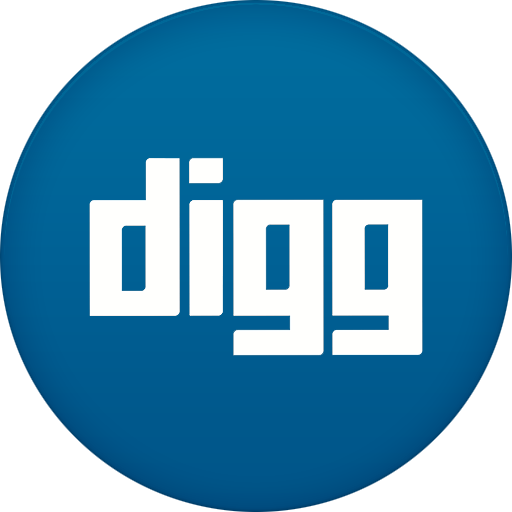 Digg Icon Free Of Circle Addon Icons