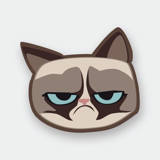 Grumpmoji Grumpy Cat Stickers