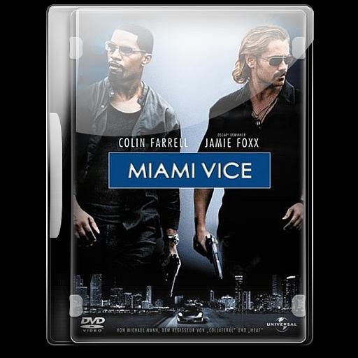 Miami Vice Icon English Movies Iconset Danzakuduro