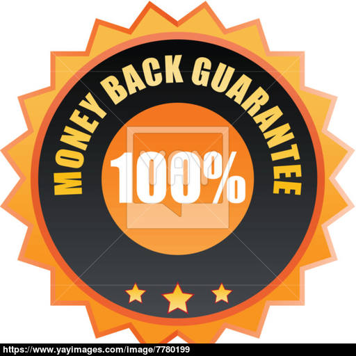 Money Back Guarantee Icon Vector