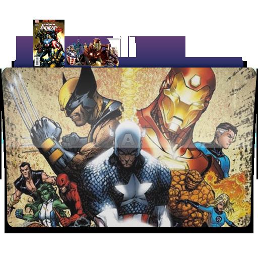 Marvel Folder Icons Images