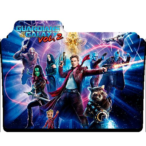 Guardians Of The Galaxy Vol Folder Icon