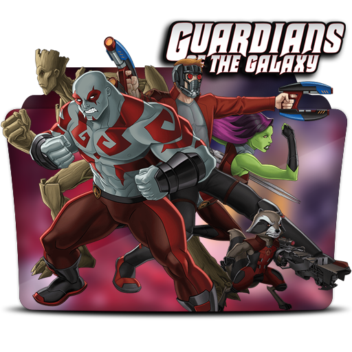 Guardians Of The Galaxy Folder Icon