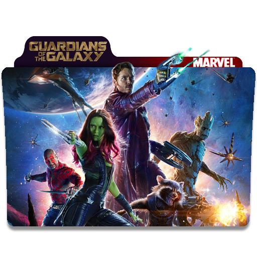 Guardians Of The Galaxy Folder Icons