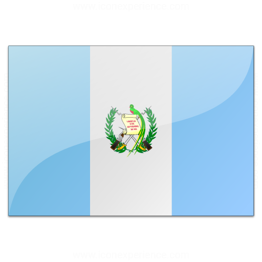 Iconexperience V Collection Flag Guatemala Icon