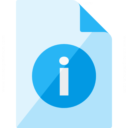 Iconexperience G Collection Document Information Icon