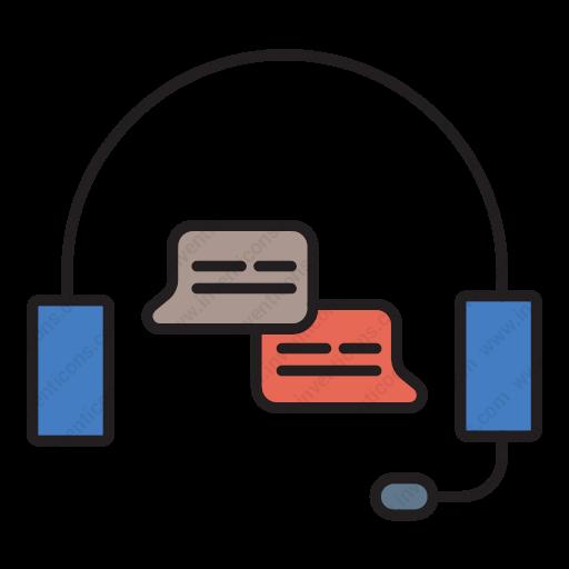 Download Helpline,support,customer,service,guide Icon Inventicons