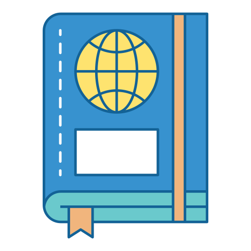 Travel, Holiday, Vacation, Book, Diary, Notes, Guide Icon Free