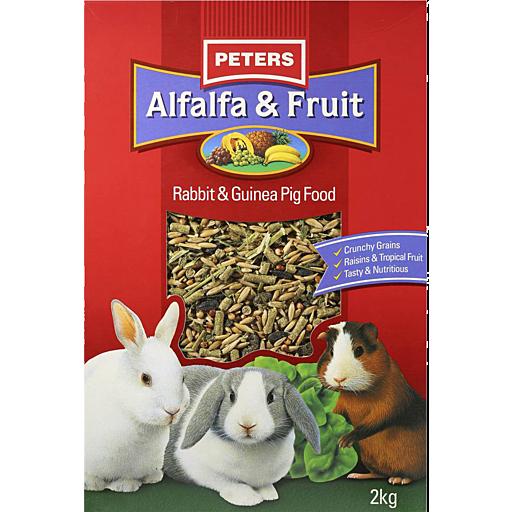 Peters Alfalfa Fruit Rabbit Guinea Pig Food