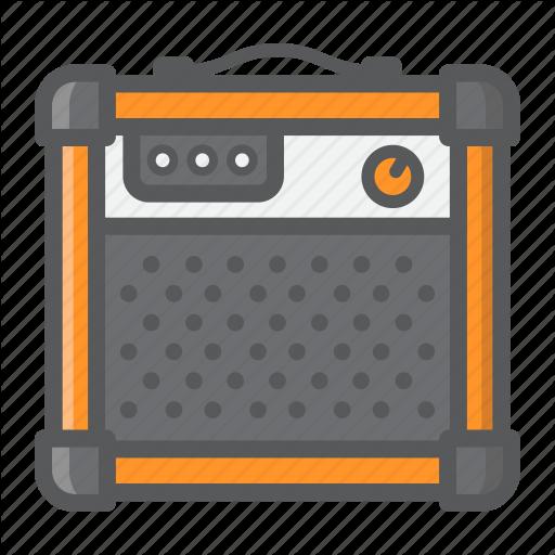 Amplifier, Amplify, Audio, Music, Rock, Sound Icon