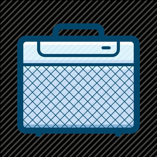 Amplifier, Bass, Guitar, Rock, Speaker Icon