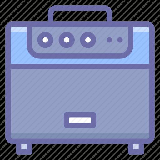 Amplifier, Guitar Icon