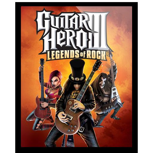 Icon Guitar Hero Iii Legends Of Rock