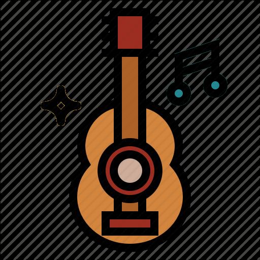 Acoustic, Acoustic Guitar, Guitar Icon