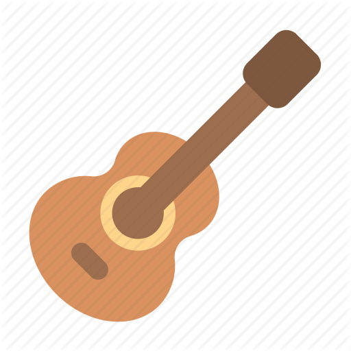 Acoustic, Guitar Icon