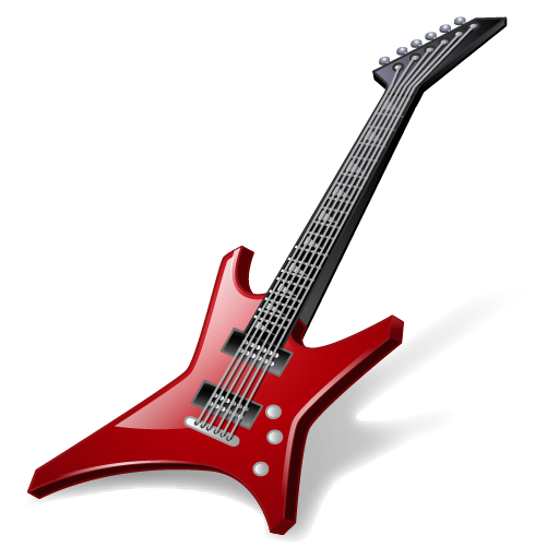 Rock Guitar Icon Musical Instruments Iconset Icons Land