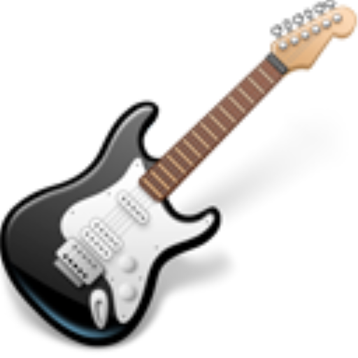 Rock, Music, Guitar Icon