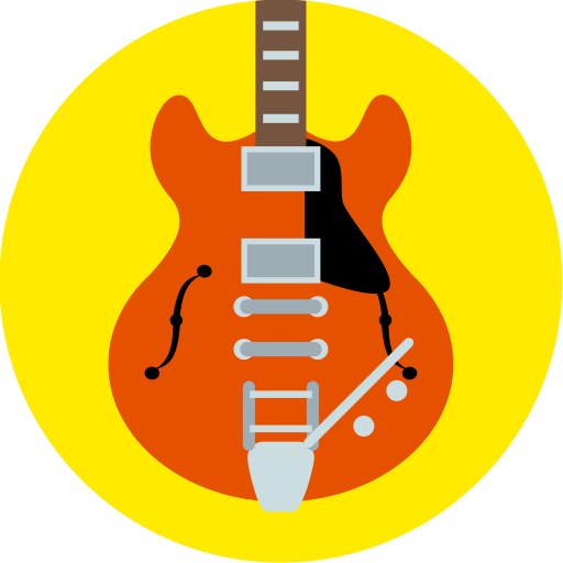 Gibson, Music, Back To The Future, Guitar, Instrument Icon