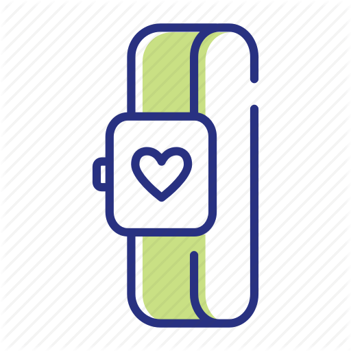 Device, Fitness Tracker, Gym Icon