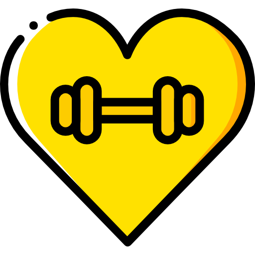 Heart, Love, Gym Icon