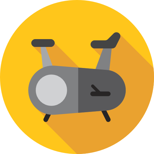 Gym And Fitness Gold Icon
