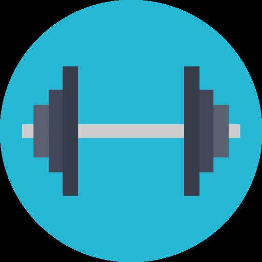 Exercise, Fitness, Gym, Gymnasium Icon