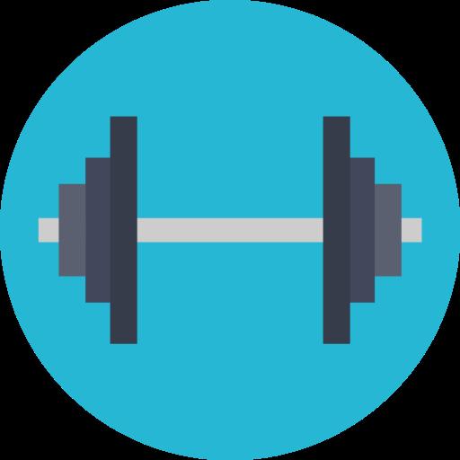 Fitness, Exercise, Gym, Gymnasium Icon