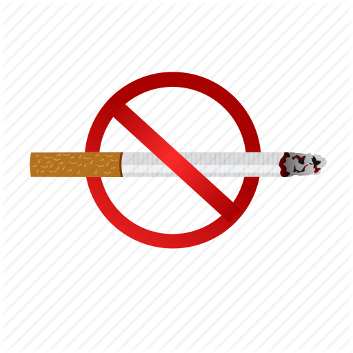 Bad Health, Cancer, Cigerette, Habit, No, Smoking, Stop Icon