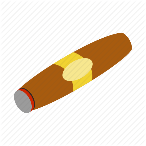 Cigar, Cuban, Habit, Isometric, Leaf, Smoke, Tobacco Icon