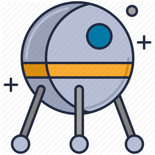 Habitat, Satellite, Space, Spacecraft, Technology Icon