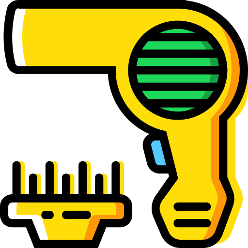 Hairdryer Beauty Png Icon