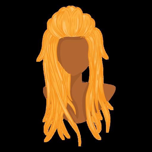 Blonde Woman Hair Icon